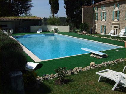 chambre d 39 hotes avec piscine aude domaine st andrieu vacances avec. Black Bedroom Furniture Sets. Home Design Ideas