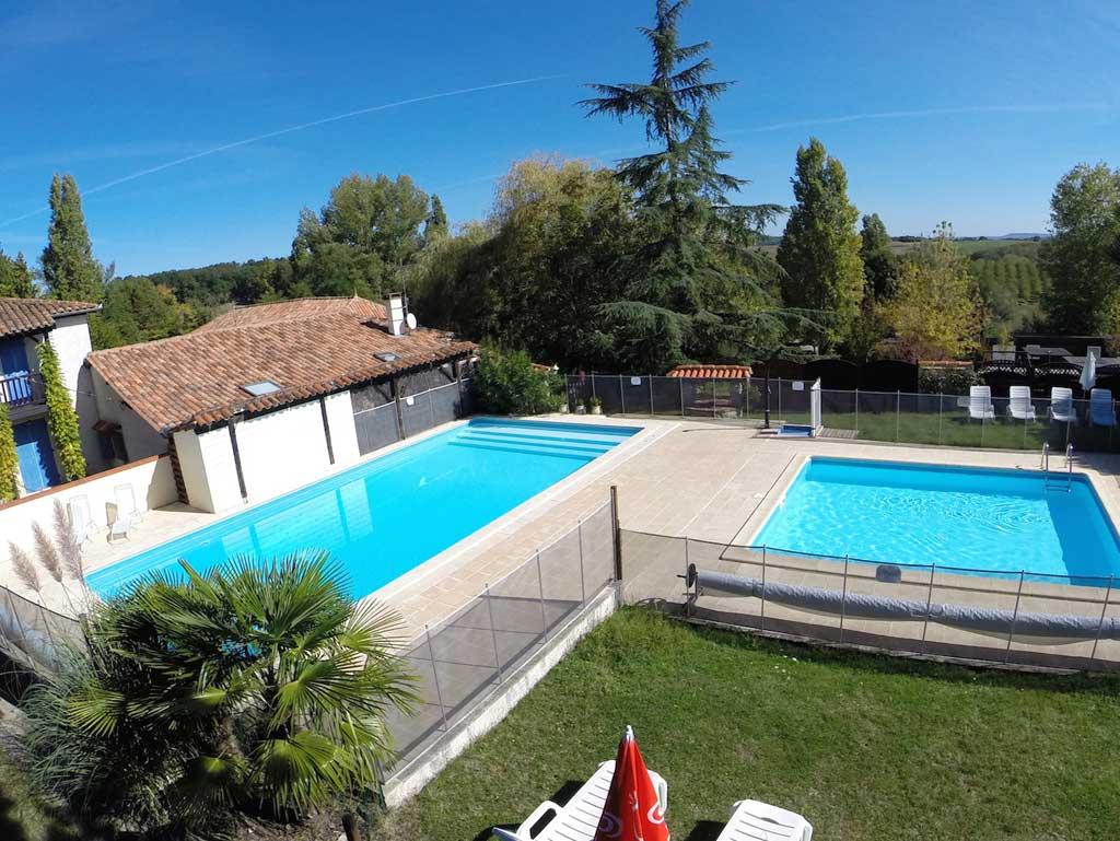 Village de gites avec 2 piscines lot et garonne la - Village vacances gers avec piscine ...