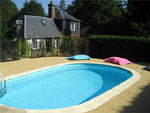 Gites avec piscine locations de gite avec piscine - Gite avec piscine couverte normandie ...