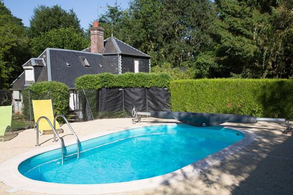 Gite avec piscine chauff e eure a la bambouseraie for Piscine 1m20