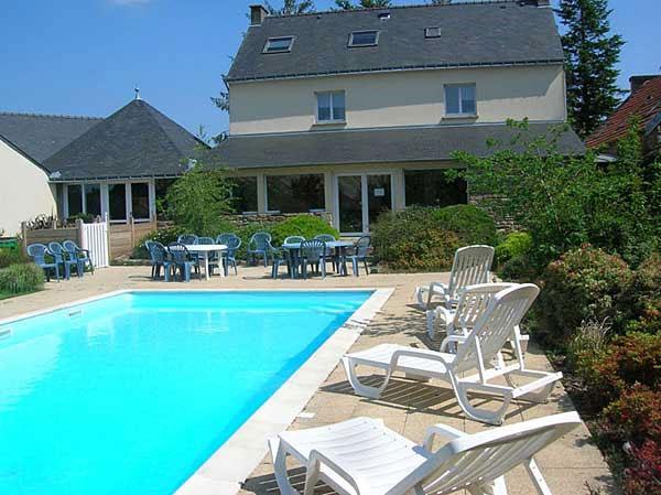 Gite avec piscine chauff e morbihan l 39 escale du blavet for Gites morbihan avec piscine
