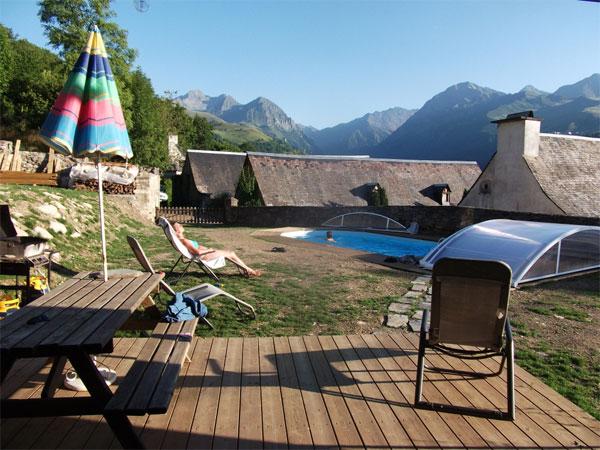 Gite avec piscine d 39 ext rieur chauff e hautes pyr n es - Gite pyrenees orientales avec piscine ...