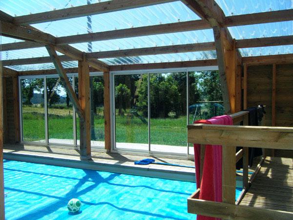 Gite avec piscine couverte chauff e haute loire g te la for Gite malaucene avec piscine