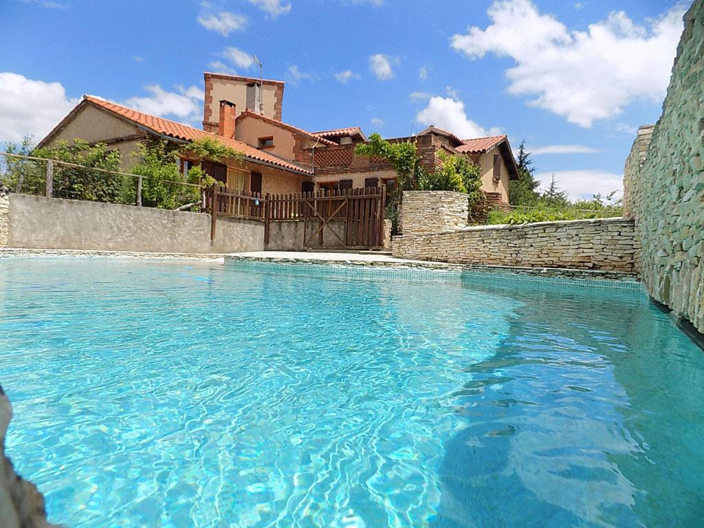 Gite avec piscine ari ge gite limporge vacances avec - Gite pyrenees orientales avec piscine ...