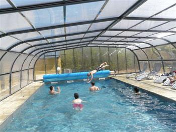 Gite avec piscine couverte chauff e c te d 39 armor les for Gite bretagne piscine couverte