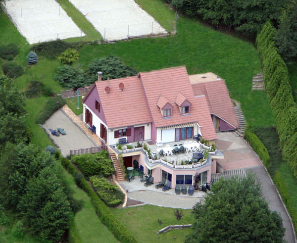 Gite avec piscine d 39 int rieur chauff e haut rhin villa for Piscine jonquilles