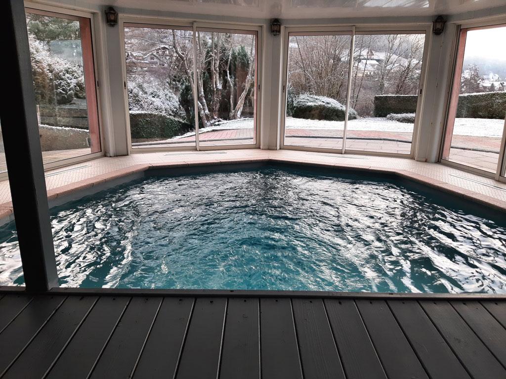 Gite avec piscine d 39 int rieur chauff e haut rhin villa for Piscine 1m20